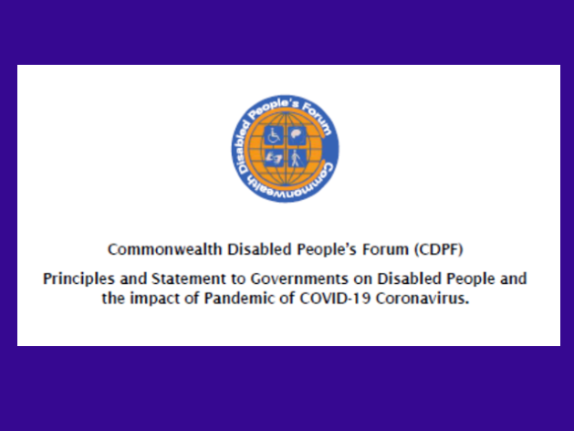 CDPF Statement & Principles on COVID-19